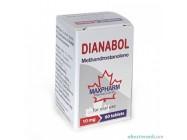 Dianabol (60x10mg) MaxPharm