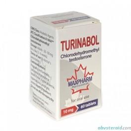 Turinabol (60x10mg) MaxPharm