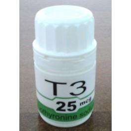Т3 Трийодтиронин 100х25mcg (Estopharma)