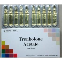 Trenbolone acetate (Тренболон) 10х76,5mg Pharm-tec