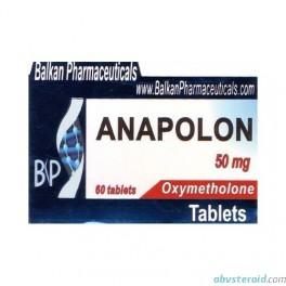 Anapolon (Oxymetholone 20х50mg) BalkanPharmaceuticals