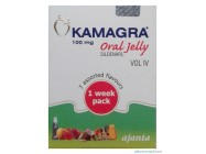 Kamagra Oral Jelly (Sildenafil citrate) 7x100mg
