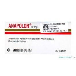 Anapolon (Анадрол) ABDIibrahim 20х50mg