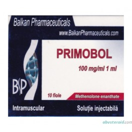Primobol (10x100mg Methenolone enanthate) BalkanPharma