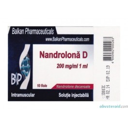 Nandrolona D (10x200mg) Дека BalkanPharmaceuticals