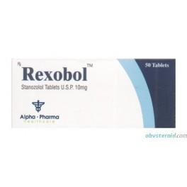 Rexobol (Winstrol) Alpha Pharma 50x10mg
