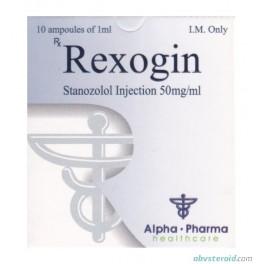 Rexogin (Stanozolol 10х50mg) Alpha Pharma