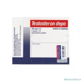 Testosteron depo (Testosterone enanthate) 5x250mg