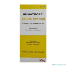 Humatrope 72IU (Lilly) HGH 24mg
