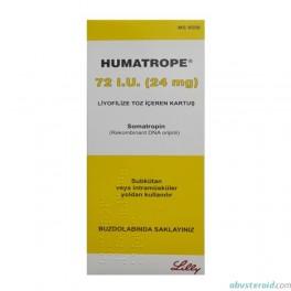 Humatrope 72IU (Lilly) HGH 24mg