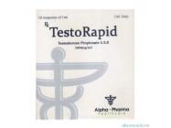 TestoRapid (Testosterone propionate 10х100mg) Alpha Pharma