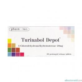 Turinabol depot (30x20mg) Pharm-tec